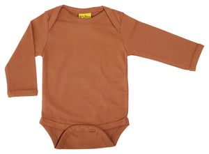 MTAF - Long Sleeve Bodysuit - Chipmunk