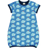 Maxomorra - Dress Balloon SS - Elephant Friends