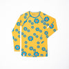 ALBA - AIA - My All Time Favourite Long Sleeve Top - Bright Gold Flower Power