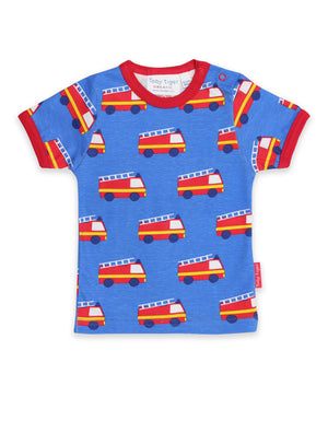 Toby Tiger - Tshirt - Fire Engine