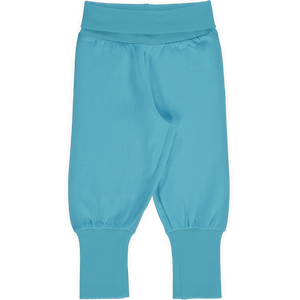 MAXOMORRA - PANTS RIB - SOLID SKY