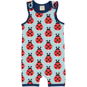 MAXOMORRA - PLAYSUIT SHORT - LAZY LADYBUG