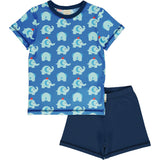 Maxomorra - Pyjama Set SS - Elephant Friends