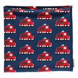 Maxomorra - Scarf Tube Velour - Fire Truck