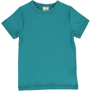 Maxomorra - Short Sleeve Tshirt - Arctic Blue