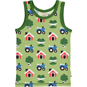 MAXOMORRA - TANKTOP - FOREST FARM