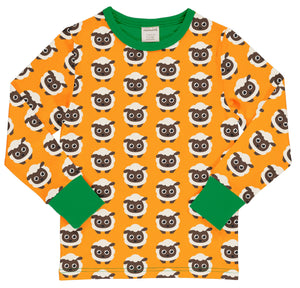 MAXOMORRA - TOP LONG SLEEVE - CLASSIC SHEEP