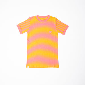 ALBA - AIA - Vigga Tshirt - Tea Rose Magic Stripes