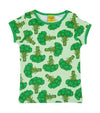 DUNS - Short Sleeve Top - Broccoli