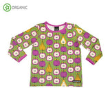 Villervalla - Long Sleeve Tshirt - Garden Fruit Turtle