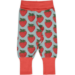 Maxomorra - Pants Rib - Strawberry