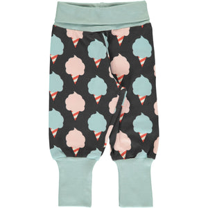 Maxomorra - Rib Pants - Sweet Cotton Candy