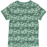 Maxomorra - Short Sleeve Tshirt - Jungle Landscape