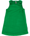 Maxomorra - Velour Pinafore Dress - Green