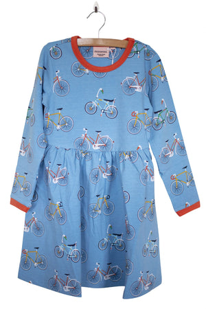 Moromini - Long Sleeve Twirly Dress - Bike like a Swede