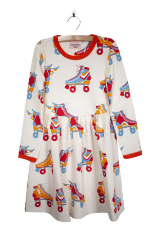 Moromini - Long Sleeve Twirly Dress - Roller Disco