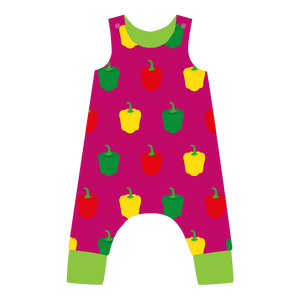 Pikolo - Lined Dungarees - Pepper
