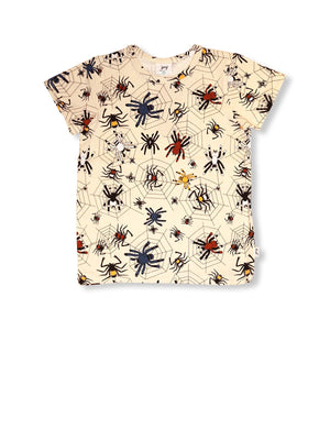 JNY - Short Sleeve Tshirt - Happy Spider