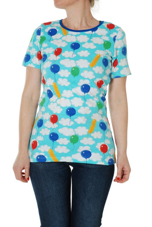 DUNS - ADULT Short Sleeve Top - A Cloudy Day