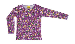 DUNS - Long Sleeve Top - Meadow Purple