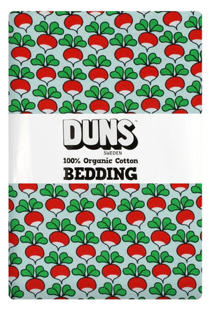 DUNS - Adult Single Bedding - Eggshell Radish