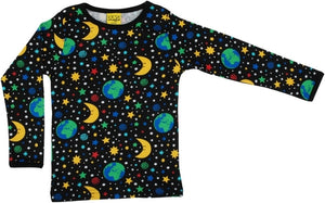 DUNS - Long Sleeve Top - Mother Earth Black