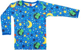 DUNS - ADULT Long Sleeve Top - Mother Earth Blue
