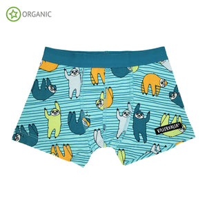 Villervalla - Boxer Shorts - Sloth Light Reef