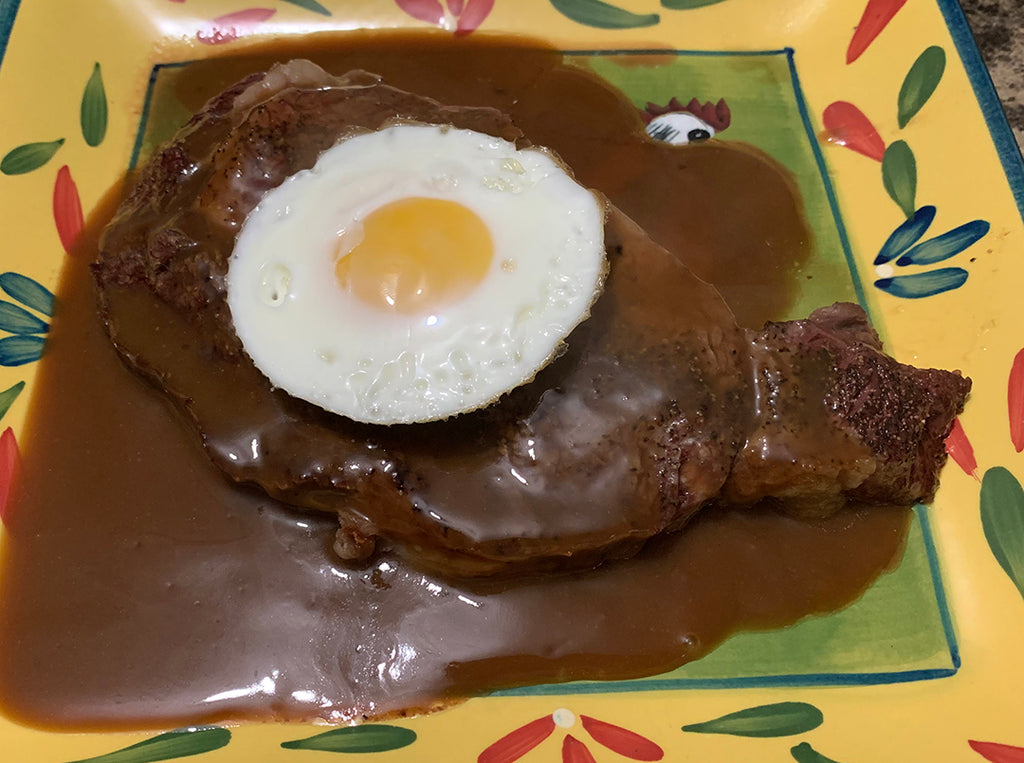 Portuguese Brown Gravy Wine Sauce