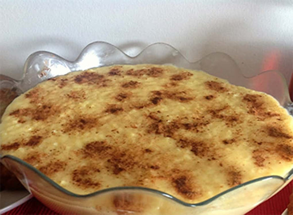 Portuguese Rice Pudding (Arroz Doce)