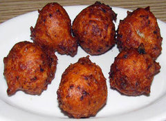 Portuguese Style Clam Cakes