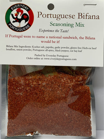 Portuguese Bifana Marinade Seasoning Mix