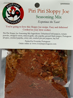 Piri Piri Sloppy Joe Seasoning Mix