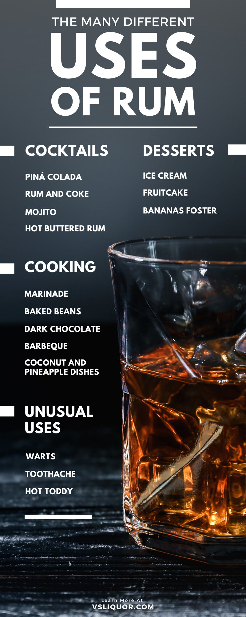 The Many Different Uses of Rum