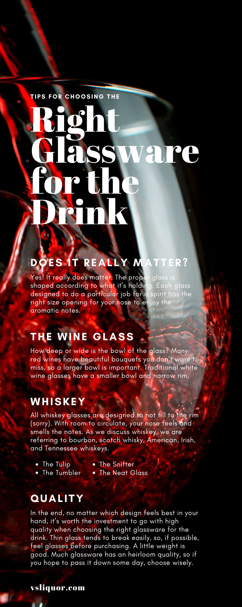 Tips for Choosing the Right Glassware for the Drink