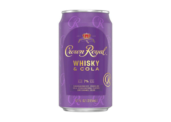 Crown Royal Whisky & Cola Canned Cocktail
