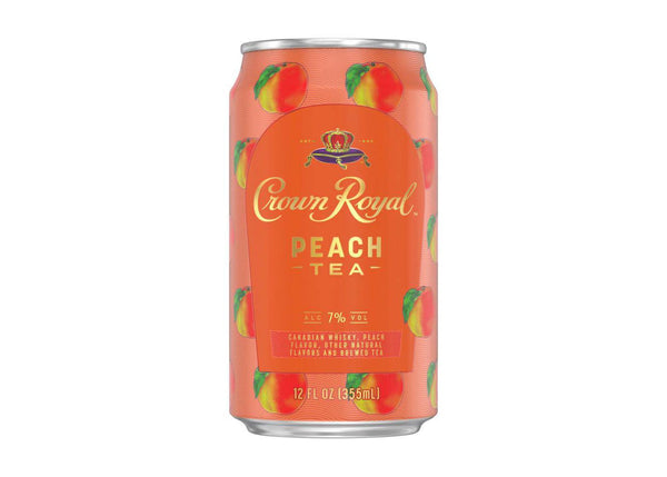 Crown Royal Peach Tea Canned Cocktail