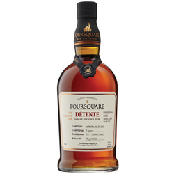 "Foursquare Mark XIV ""Détente"" 10 Year Barbados Rum"