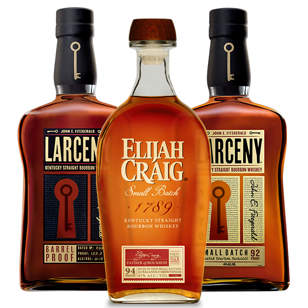Larceny Barrel Proof	Bourbon, Larceny Bourbon, & Elijah Craig Small Batch Combo