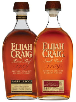 Elijah Craig Barrel Proof Batch B520 and Small Batch Bundle