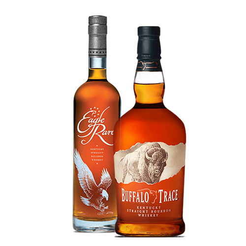 Buffalo Trace 1L, Eagle Rare 750 ML, Larceny Bourbon 750 ML Combo