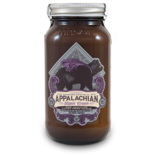 Appalachian  Dark Chocolate Coffee Sippin' Cream 750Ml