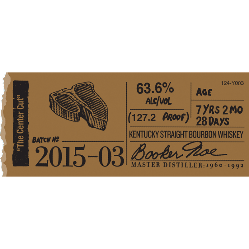Booker's Bourbon Batch 2015-03 'The Center Cut'