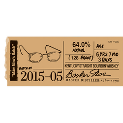 Booker's Bourbon Batch 2015-05 'Maw Maw's Batch'
