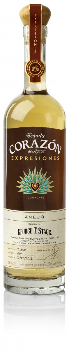 Corazon Anejo Aged in George T. Stagg Barrels