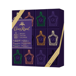 Crown Royal Canadian Whiskey Tasting Calendar