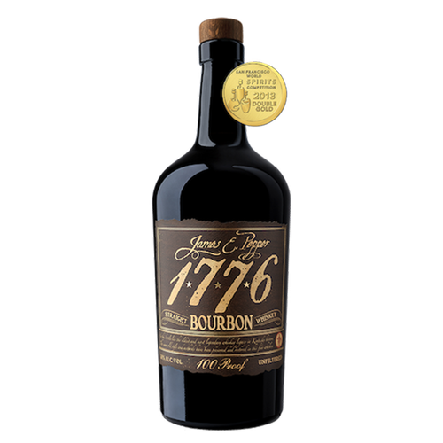 James E. Pepper 1776 Straight Bourbon 100 Proof