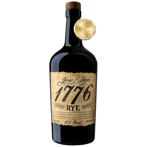 James E. Pepper 1776 Straight Rye 100 Proof
