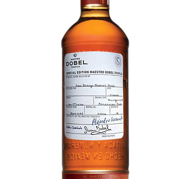 Maestro Dobel Anejo 'San Diego Barrel Boys' Barrel Select