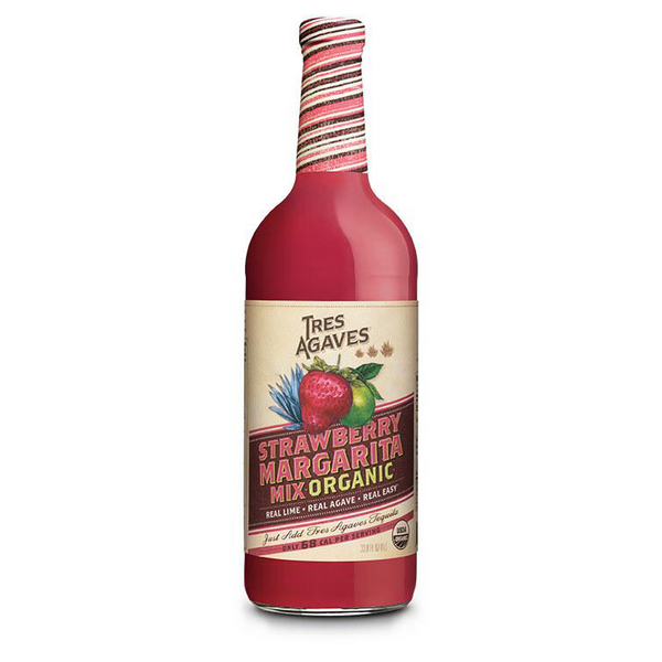 Organic Strawberry Margarita Mix - Tres Agaves